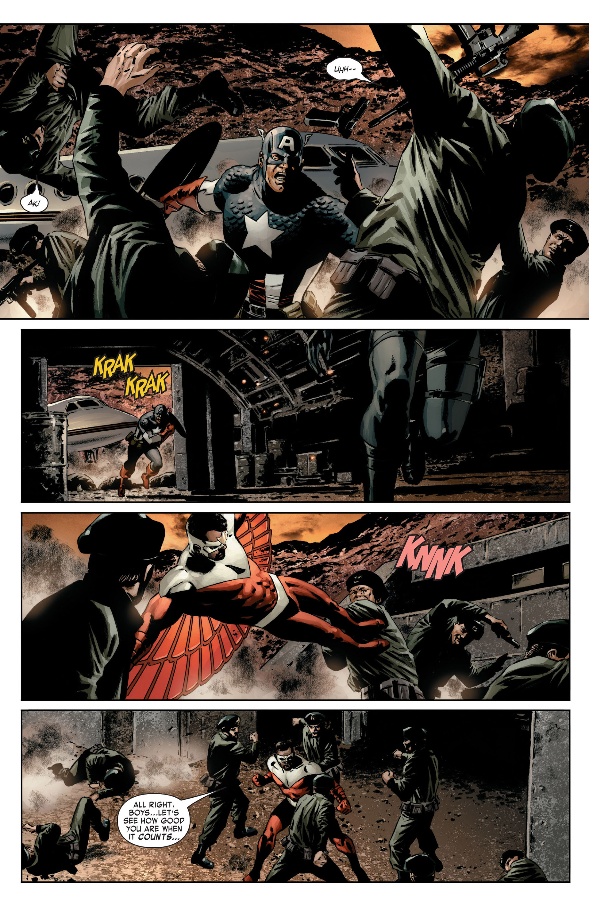 Captain America (2005) Issue #14 #14 - English 7