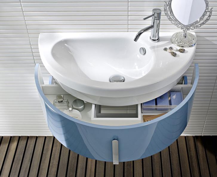 Creamaricrea bagno degli ospiti - Mobile bagno moon ...