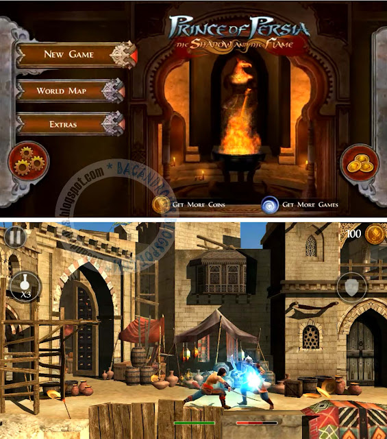 Game Prince of Persia The Shadow And The Flame APK