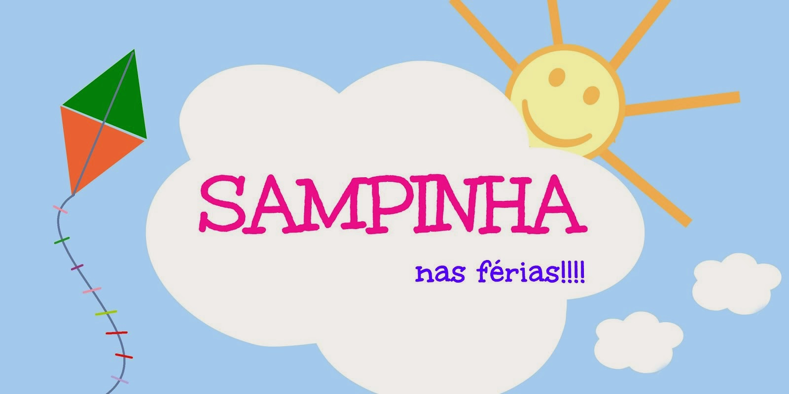 SAMPINHA<br>NAS FÉRIAS