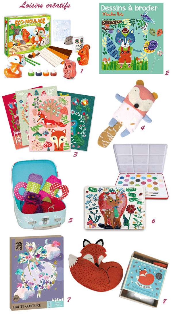 Idées cadeaux enfants loisirs créatifs