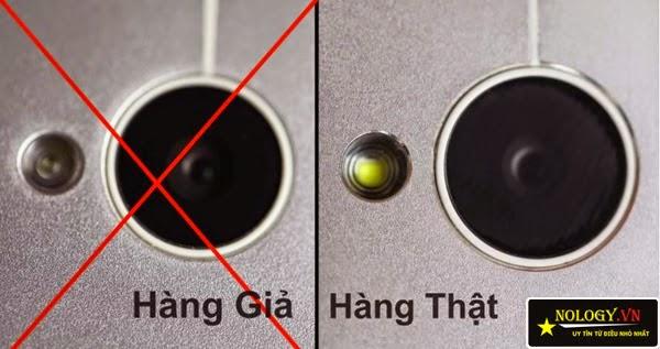 HTC One M7 - phân biệt hàng thật và nhái