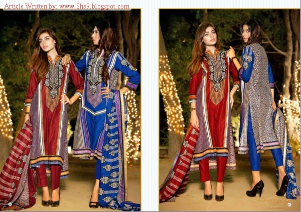 House Of Ittehad Winter 2014 Ittehad Royal Khaddar Dress Series She9 Change The Life Style