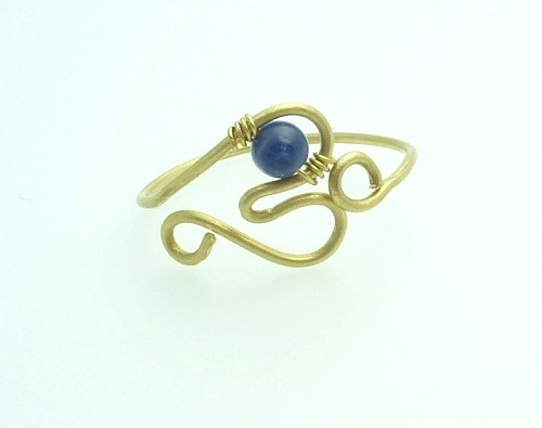 How to Make a Wire Wrapped Heart Wire Ring - The Beading Gem\'s Journal