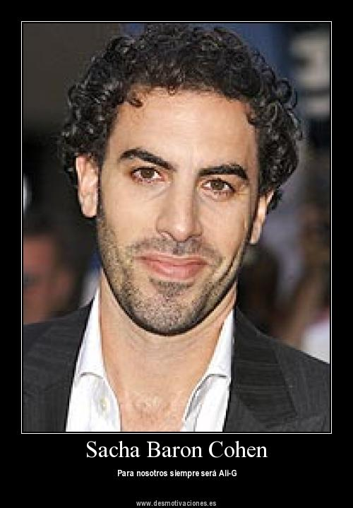 English actor Sacha Noam Baron Cohen with different Beard styles