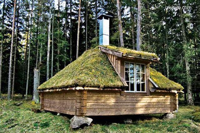 Casas prefabricadas madera cabanas de madera rusticas - Casas de troncos redondos ...