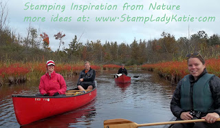 My Stamping Inspiration: Fall River Trip in Wisconsin.