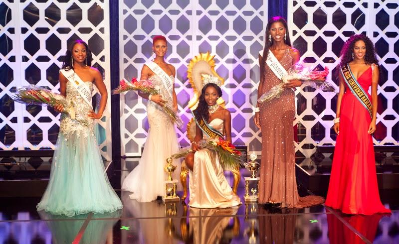 Miss Universe Bahamas 2014 winner Tomacina Culmer