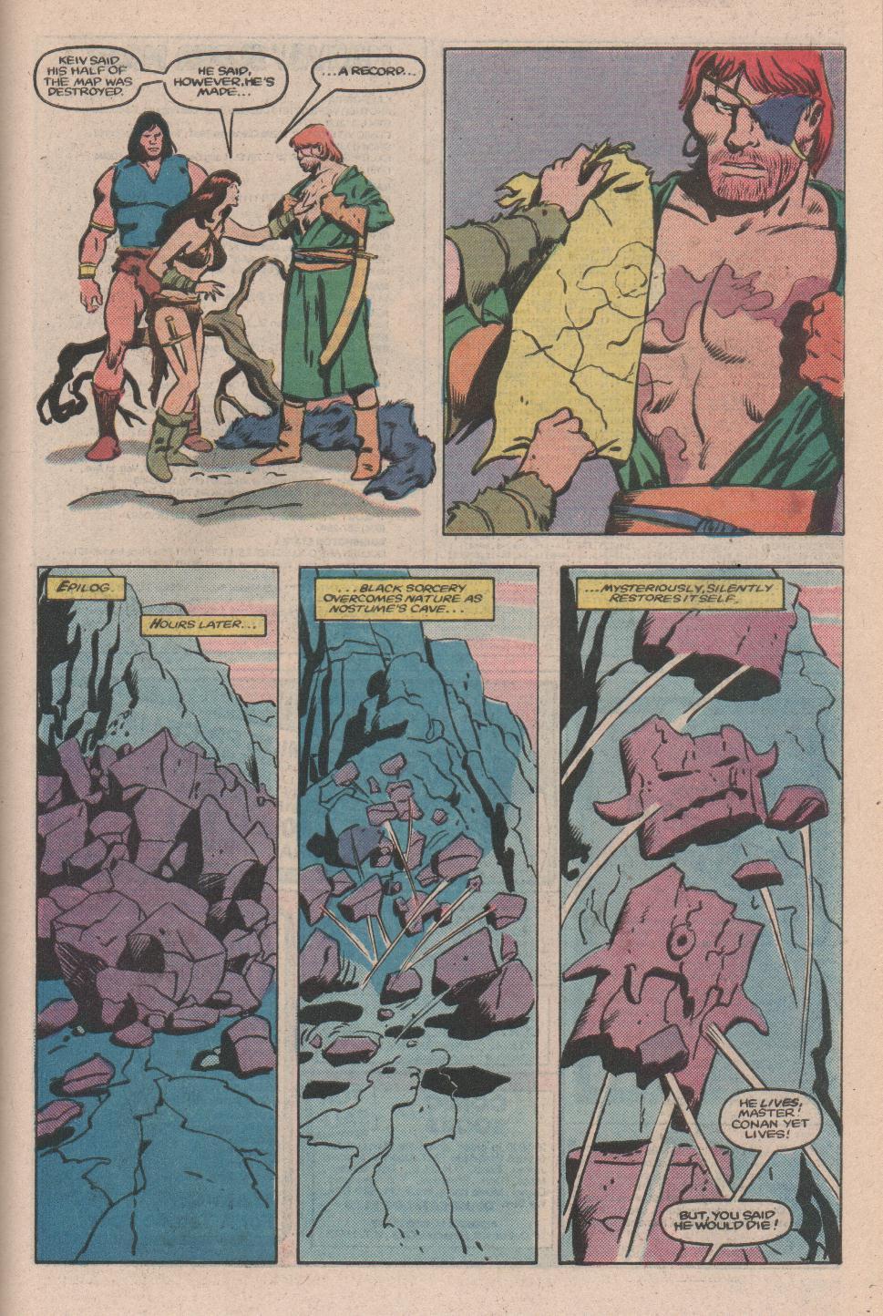 Conan the Barbarian (1970) Issue #173 #185 - English 20