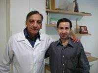 Saudades: Eu e meu amigo Dr. Osmar de Oliveira, médico e jornalista esportivo