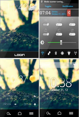 Xperia S theme for hyperion Custom Rom v1.0 galaxy y s5360