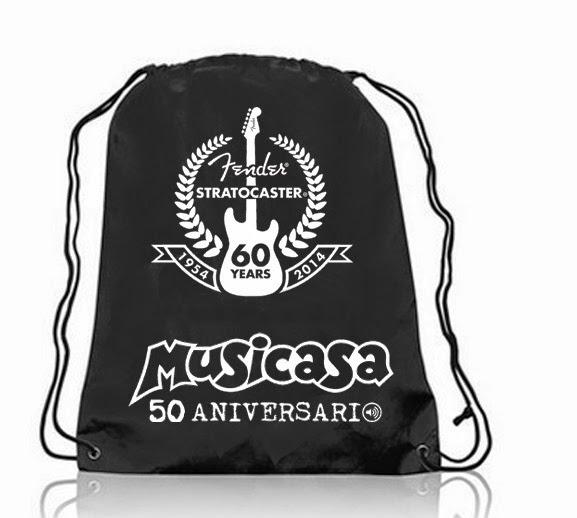Mochila Fender Stratocaster 60 Years