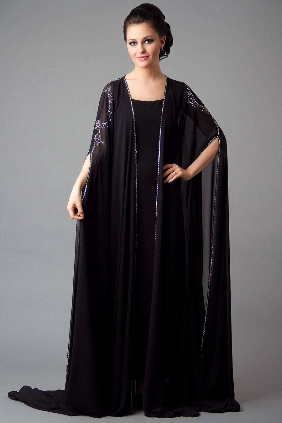 Designer embroidered abaya collection 2013 2014 new for New latest design