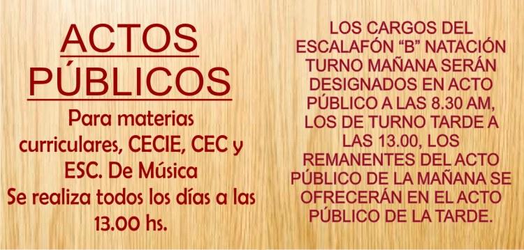 Actos Públicos (A partir del 02/03)