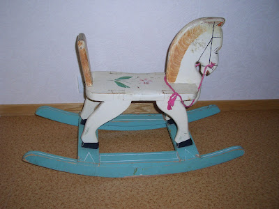 Wooden Rocking Horse