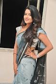 Jyothi seth sizzling saree photos-thumbnail-18