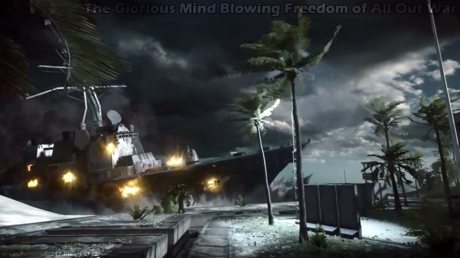 BF4 Glorious Mind Blowing Freedom of All Out War