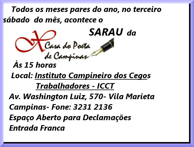 SARAUS DA CASA DO POETA