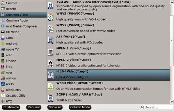 Roku 3/Plex video format
