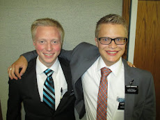 Elder Richards and Elder Anderson in Long Beach