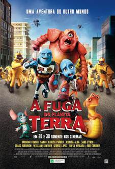 Download A Fuga do Planeta Terra Dublado RMVB + AVI Dual Áudio + Torrent DVDRip   Baixar Torrent
