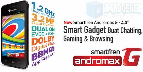 Smartfren Andromax G Terbaru