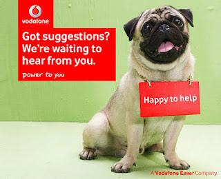 how to call vodafone india customer care