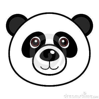 Urso Panda Desenho