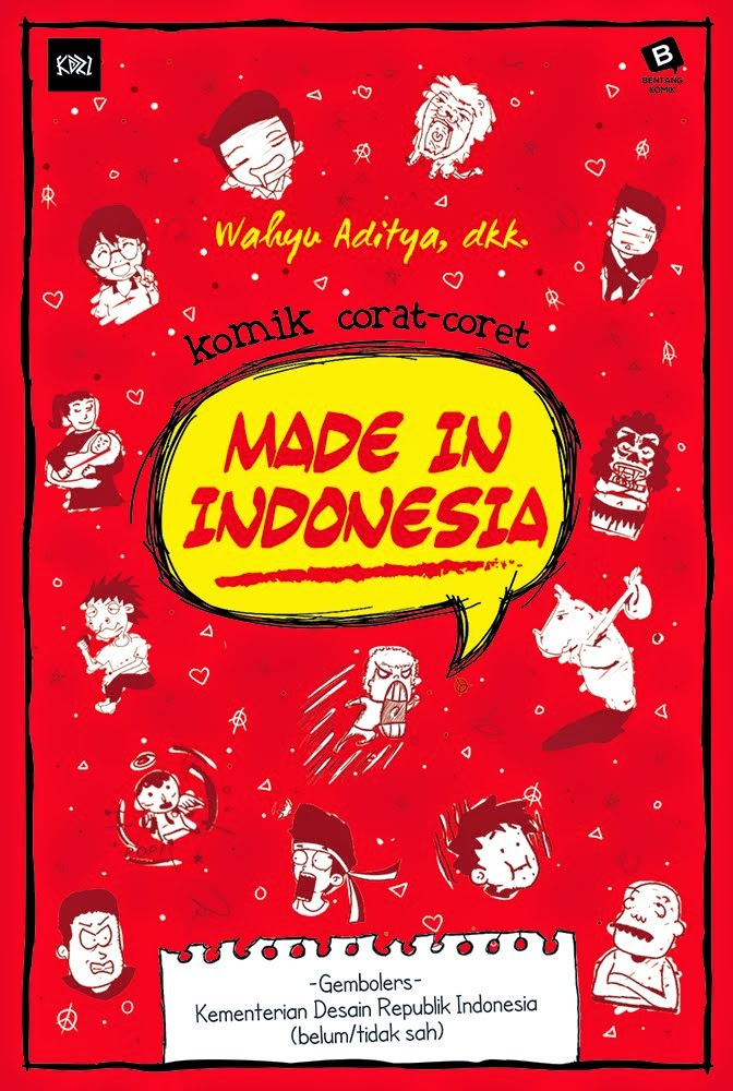 Komik Corat-coret Made In Indonesia