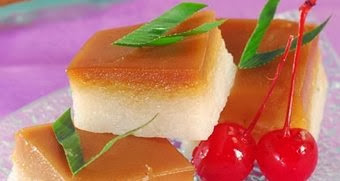 cara membuat kue talam ketan gula merah paling enak