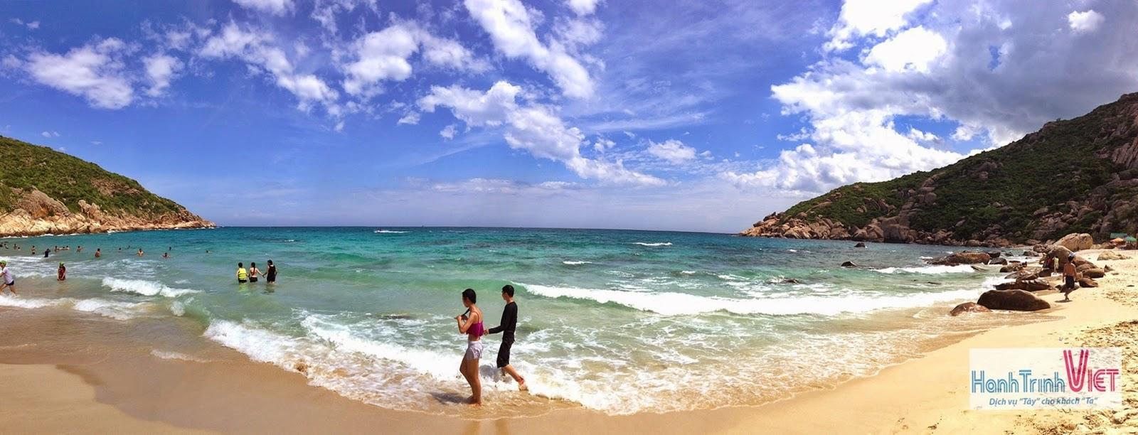 Tham quan đảo Tôm Hùm Bình Ba