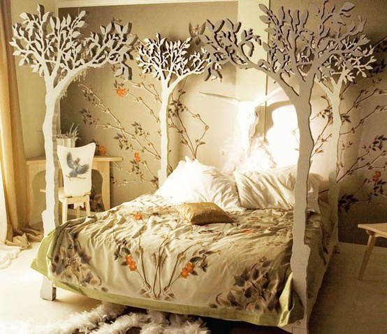 I found some of these tree like beds and really love them.. I know I will  hate the bed after about 4 minutes but I like it tonightand yesterday.