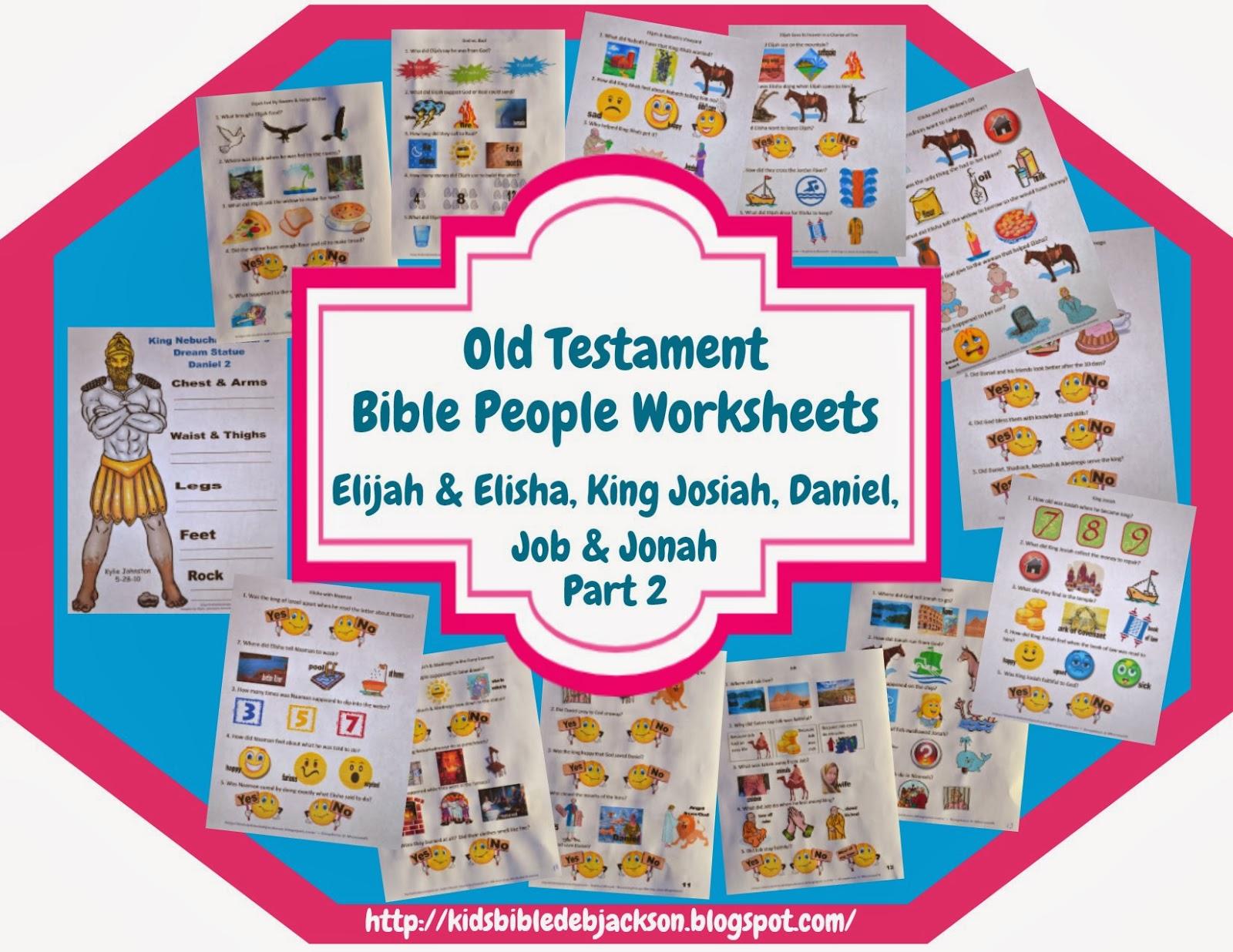http://kidsbibledebjackson.blogspot.com/2014/01/old-testament-bible-people-worksheets.html