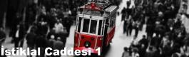 İstanbul İstiklal Caddesi 1 Mobese