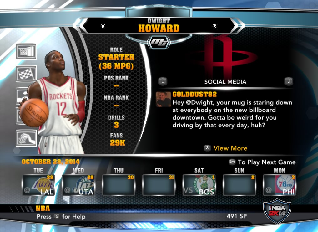 nba 2k14 Dwight Howard mycareer patch download hoopsvilla
