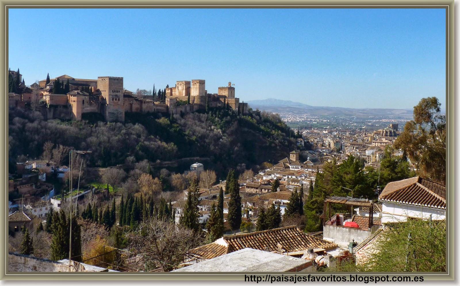 Mis paisajes favoritos perspectivas de la alhambra for La casa de granada en madrid