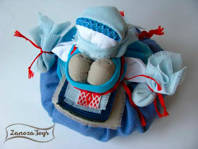 Народная кукла-оберег Кубышка-Травница своими руками