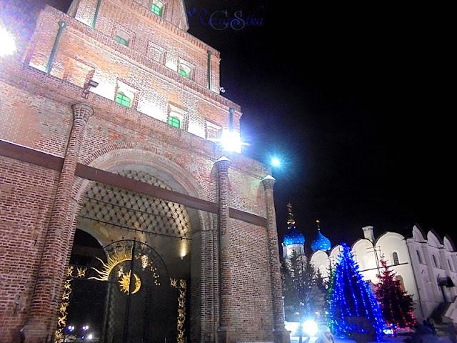церковь и башня в Казани