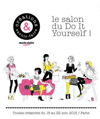 Brin de fantaisie le do it yourself en chiffres - Salon creations savoir faire invitation ...