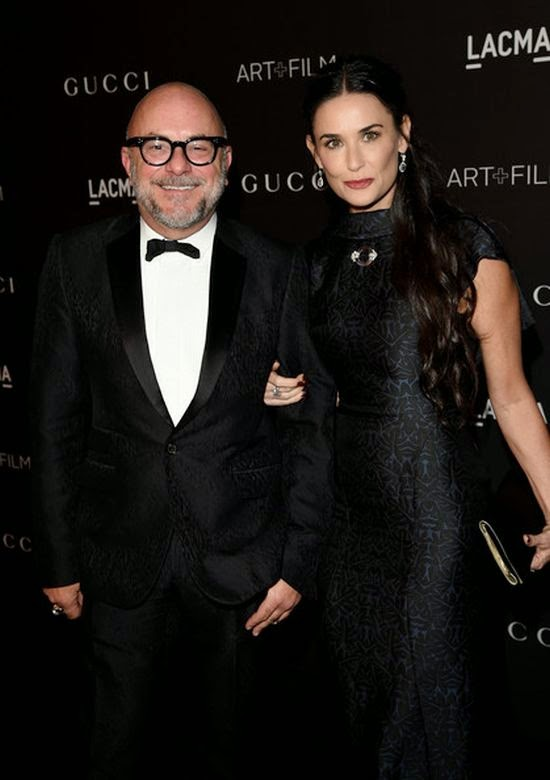 It was a big event in the high society diary and Demi Moore taking the centre of stage as she headed to LACMA Art at Los Angeles, USA on Saturday, November 1, 2014.