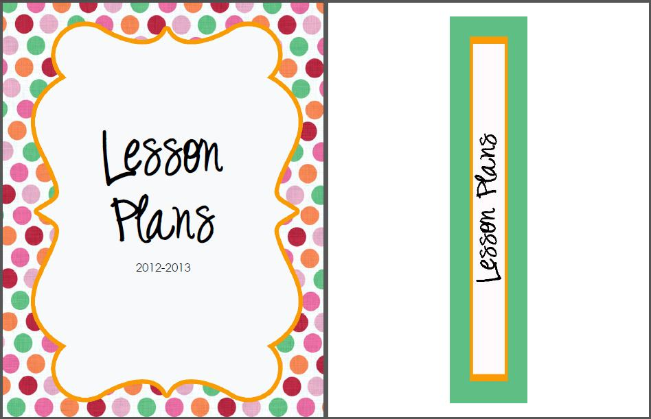 Lesson Plan Book Cover Template : The real teachr creating a lesson plan book