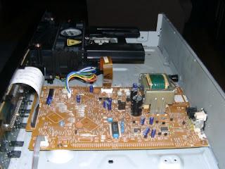 Pioneer PD-103 inside