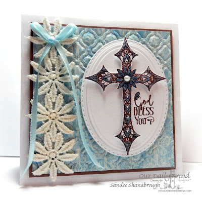 Our Daily Bread Designs Stamp sets: Boho Cross, Our Daily Bread Designs Beautiful Boho Paper Collection, Our Daily Bread Designs Custom Dies: Boho Background, Ovals, Stitched Ovals