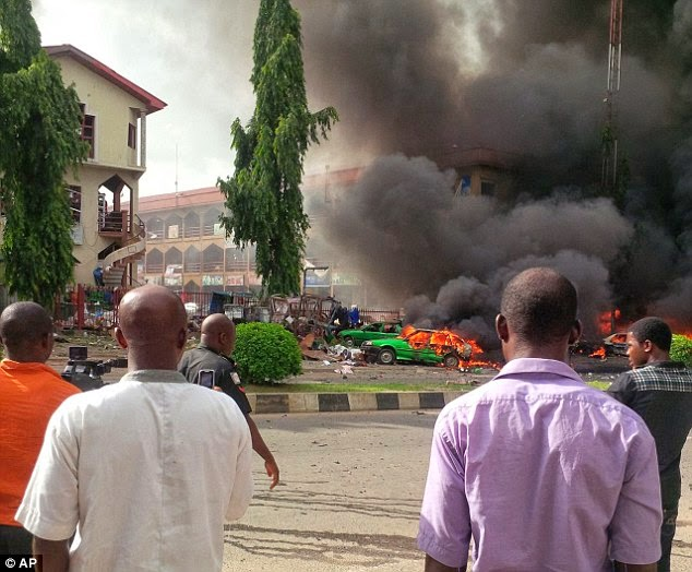 abuja suicide bombing attack