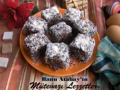 Avustralya Mutfağından Lamington Keki (Küp Kek) - Videolu Tarifi