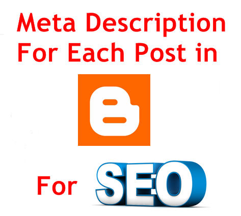 Meta Description to Each Blogger Post