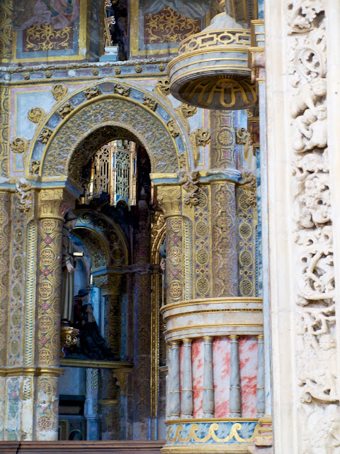 Detalle Charola Templaria de Tomar