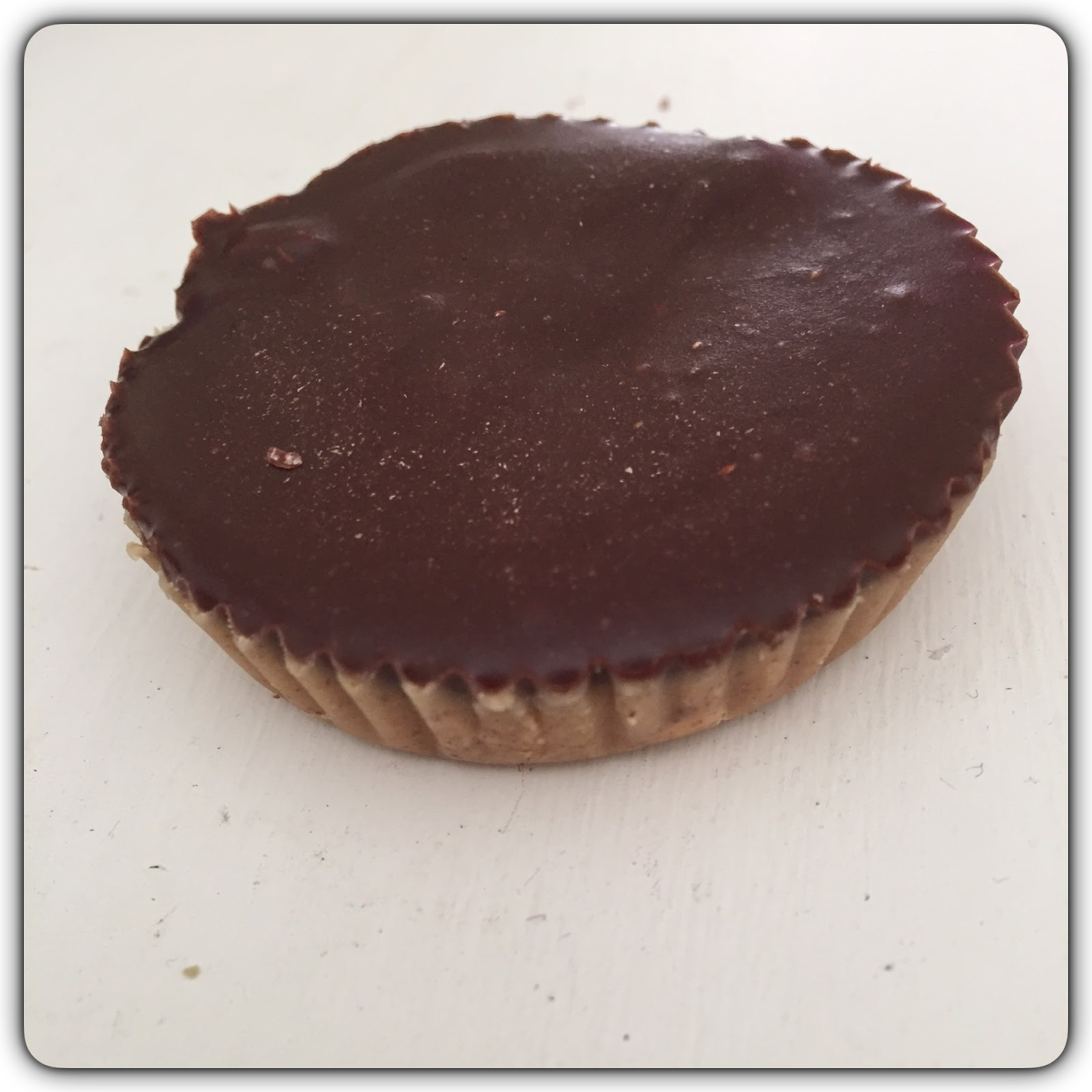 raw peanut butter cup