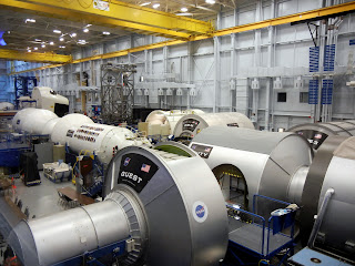 Warehouse of NASA technology at the Houston Space Center