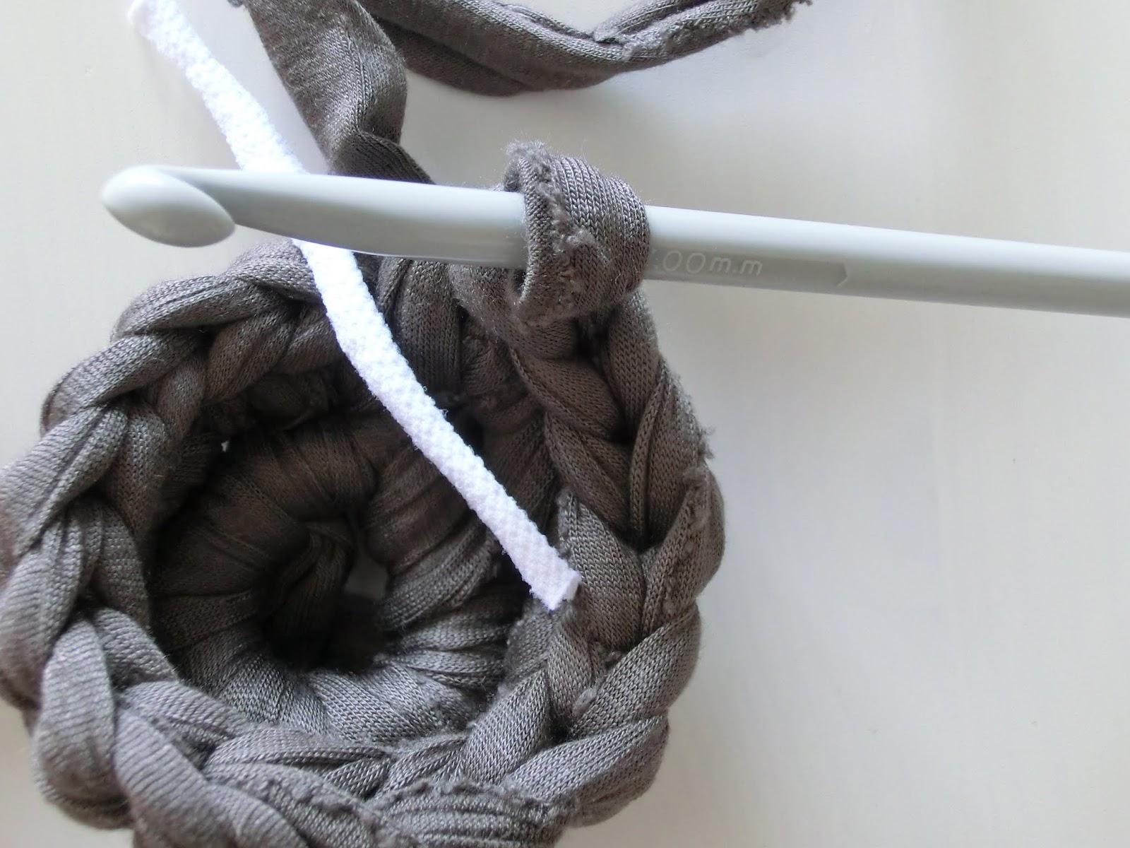Tutorial Crochet Xxl : ... des de l?tic: ...tutorial de ganxet XXL / Crochet XXL tutorial